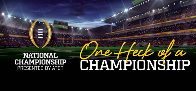College Football National Championship, Presented By AT&T