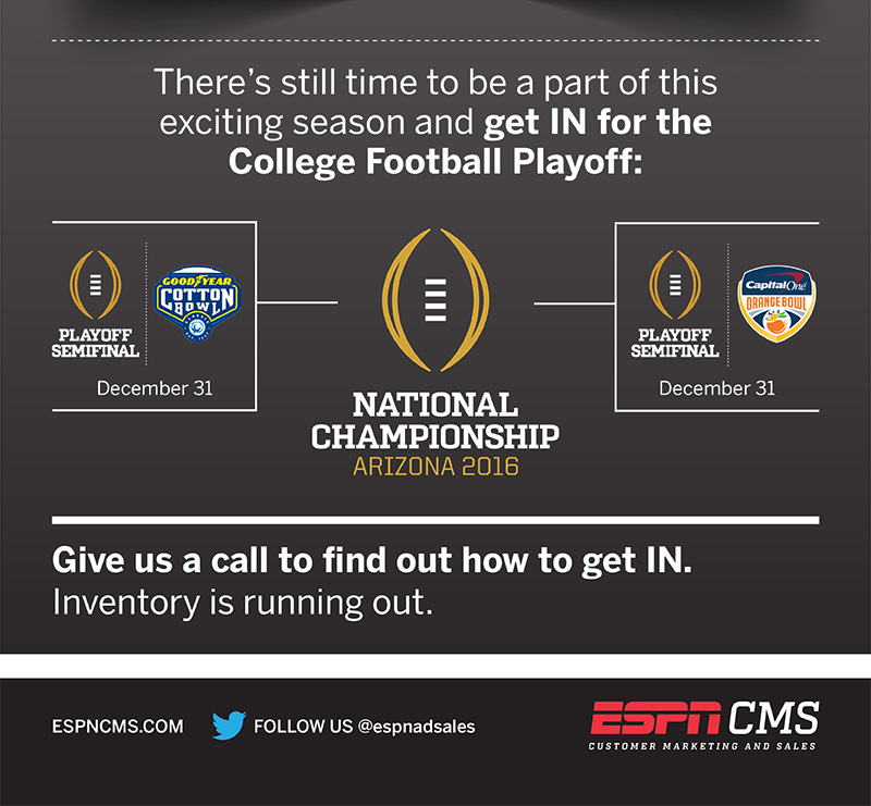 ESPNCMS Stream - 2015 College Football Recap